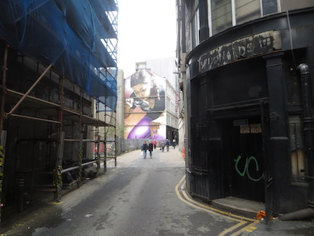 Glasgow streetart 3