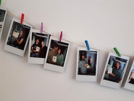 Boekpresentatie Polaroid van de dag 3
