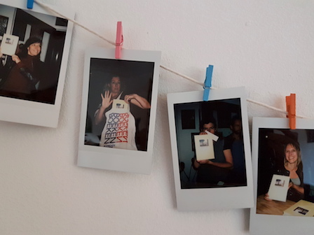 Boekpresentatie Polaroid van de dag 1